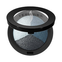 SEPHORA COLLECTION MicroSmooth Baked Eyeshadow Trio 12 Blue Lagoon