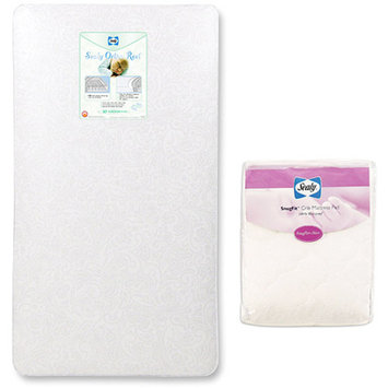 Sealy Baby - Crib/Toddler Mattress with Mattress Pad Value Bundle