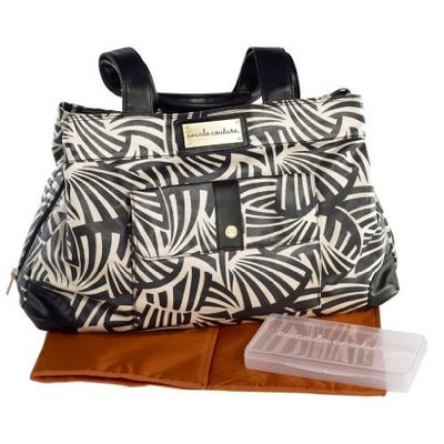 Cocalo Couture Kayla Satchel Diaper Bag, Zebrabot (Discontinued by Manufacturer)