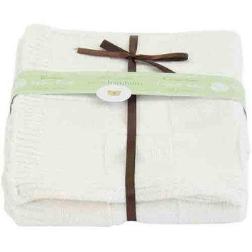 Piccolo Bambino Checkered Blanket, Cream