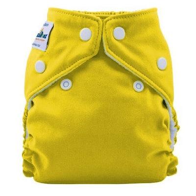 FuzziBunz Perfect Size Cloth Diaper, Mac N Cheese, Small 7-18 lbs