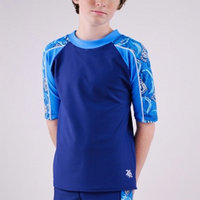 Tuga Boys Breaker Short Sleeve Rashguard (UPF 50+)