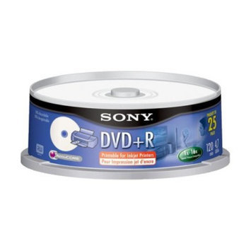 Sony 25DPR47LS1 25-pk. DVD+R Spindle