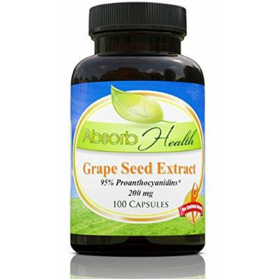 Grape Seed Extract , 200mg , 100 Capsules , 95% OPC Flavanoids , Highly Potent