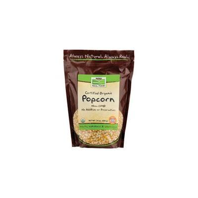 Now Foods Popcorn Organic, 24 oz (Pack of 6)