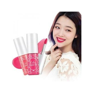 Etude House Spring 2014 Collection: Color Lips-fit Lipsticks (WH901 Petti and Top Coat)