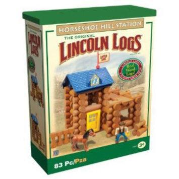 K'NEX Lincoln Logs Horseshoe Hill Station Building Set