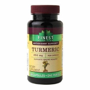 Finest Nutrition Turmeric 450mg, Capsules 60 ea