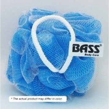 Flower Sponge 100% Nylon Extra Thick Assorted Dual - Tone Colors Bass Brushes 1