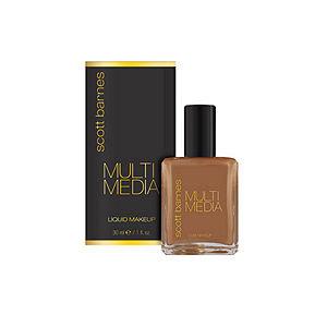 Scott Barnes Multi Media Liquid Makeup, Mahogany, 1 oz