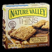 Nature Valley Granola Thins Crispy Squares Dark Chocolate Peanut Butter