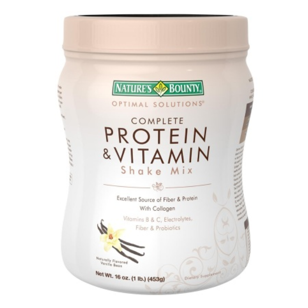 Nature's Bounty Optimal Solutions Complete Protein & Vitamin Shake Mix