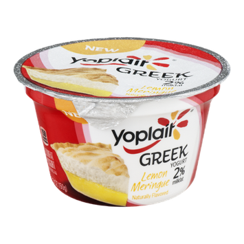 Yoplait® Greek Yogurt 2% Milkfat Lemon Meringue