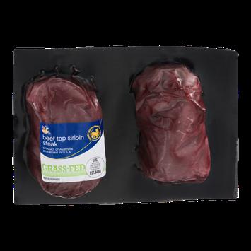 Ahold Beef Top Sirloin Steak - 2 CT