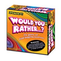 Zobmondo!! Would You Rather. . . ?  The Game of Wacky & Mind-Boggling Questions
