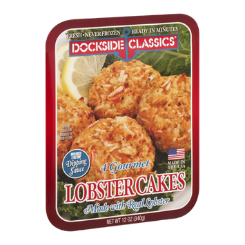 Dockside Classics Lobster Cakes - 4 CT