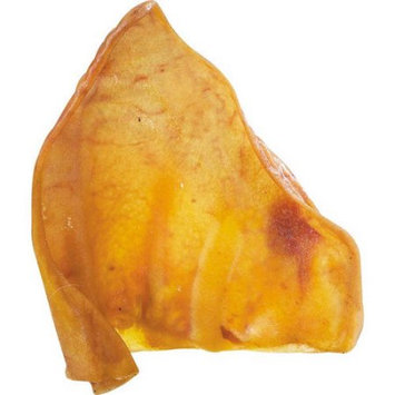 Petedge Smoked Pig Ears Dog Treat Quantity: 100-Pack