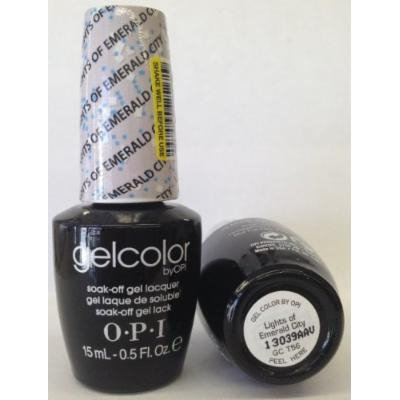 OPI Gel Nail Color, Lights of Emerald City, .5 Ounce