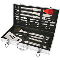 CHEFS BASICS SELECT 18PC STAINLESS STEEL BBQHW5305