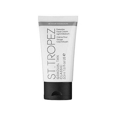 St. Tropez Gradual Tan Classic Everyday Face Cream, Light/Medium, 1.6 oz