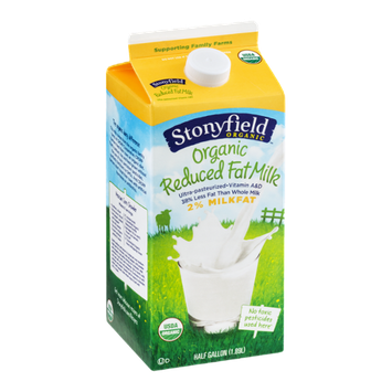 Stonyfield Organic 2% Reduced Fat Milk