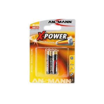 Ansmann 5015603 Ansmann X-Power Alkaline Battery AAA -2-Pack