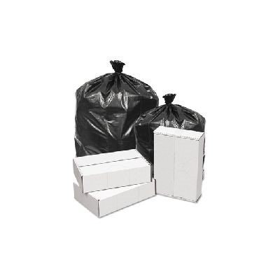 Penny Lane Commercial Can Liners Low Density White Trash Bags, Extra