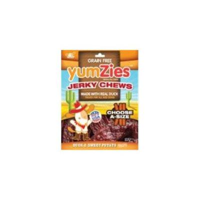Nootie Yumzies Grain Free Jerky Chews For New Item 1225 12. 5 Ounce Duck-Sweet Pot TJY125SP