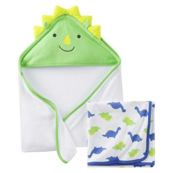 Just One You Made by Carter's Just One YouMade by Carter's Newborn Boys' 2 Pack Dinosaur Towels -
