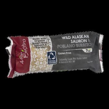 Artsian Wild Alaskan Salmon & Poblano Burrito
