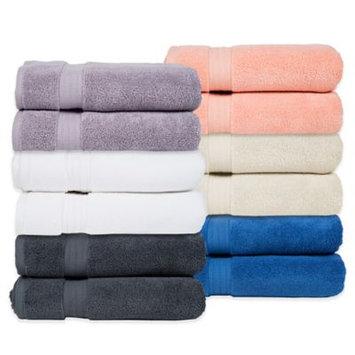 Pure Fiber Zero Twist Bath Towel (Set of 2), Purple