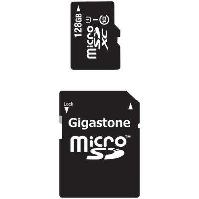 Gigastone MicroSDXC 128GB C10 U1 With SD Adapter