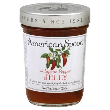 American Spoon Jelly, Jalapeno Pepper, 9-Ounce (Pack of 3)