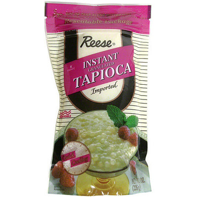 Reese Instant Granulated Tapioca, 8 oz (Pack of 6)