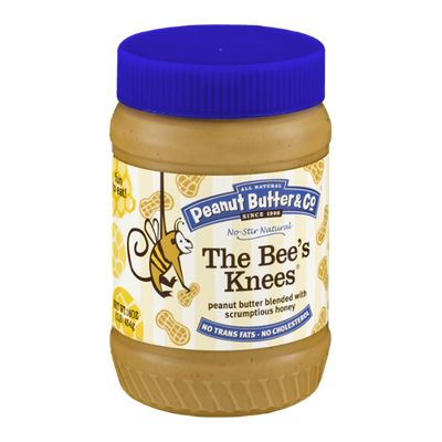 All Natural Peanut Butter & Co. The Bee's Knees