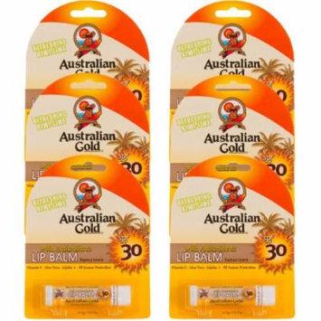 6 Pack SPF 30 Lip Balm Sunscreen with Antioxidants