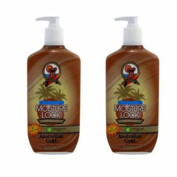 2 Pack Tan Extender Moisture Lock with Bronzer