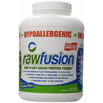 SAN Raw Fusion Supplement, Vanilla Bean, 4 Pound