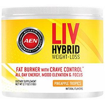 Athletic Edge Nutrition Liv Hybrid Weight-Loss Supplement, Pineapple, 78 Gram