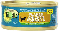 Precise Pet Precise Holistic Complete Grain Free Flaked Chicken Formula Canned Cat Food 24/5.5-oz cans