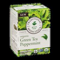 Traditional Medicinals Organic Green Tea Peppermint - 16 CT