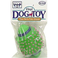 Votoys Vo-Toys 499 Toy Dog Vinyl Spike Football, Assorted Color