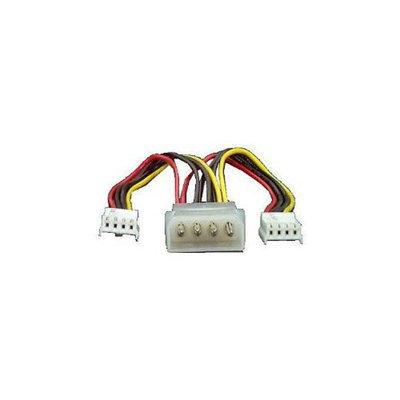 StarTech.com Power Y-splitter Cable - Power splitter - 4 pin internal power (M) - 4 pin mini-power connector (F) - for P