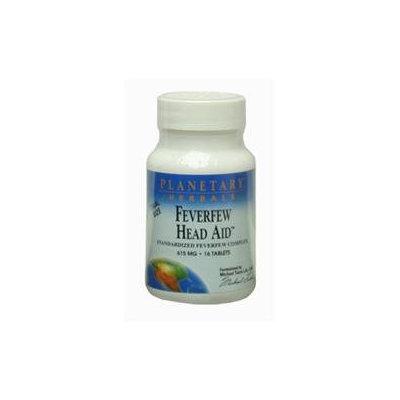 Planetary Herbals Feverfew Head Aid - 615 mg - 16 Tablets