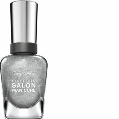 Sally Hansen Complete Salon Manicure Nail Polish, Hi Ho Silver, 0.5 Fluid Ounce