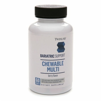 Twinlab Bariatric Support Bariatric Support Chewable Multi Dietary Supplement Tablets Berry