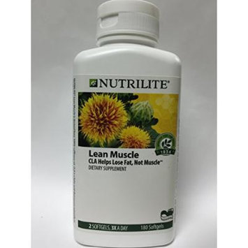NUTRILITE Lean Muscle CLA - Lose Fat, Not Muscle (180 softgels)