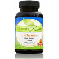 L-Theanine , 200mg , 100 Capsules , Amino Acid , Relaxation and Anxiety Support