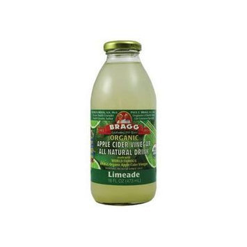 Bragg Apple Cider Vinegar Limeade 16 Oz - (Pack of 12)