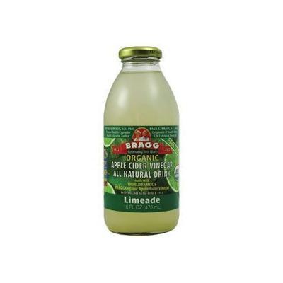 Bragg Apple Cider Vinegar Limeade 16 Oz - (Pack of 12)